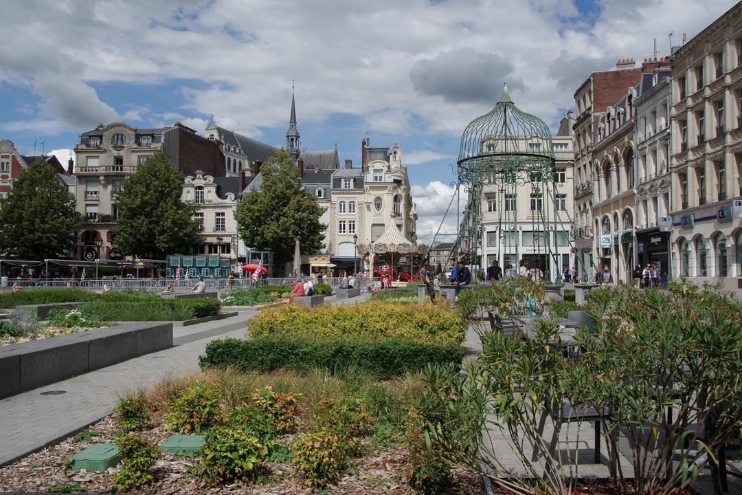 La Place de l'Hotel de Ville - Saint-Quentin