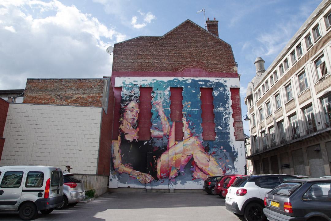 Fresque Street Art à Saint-Quentin