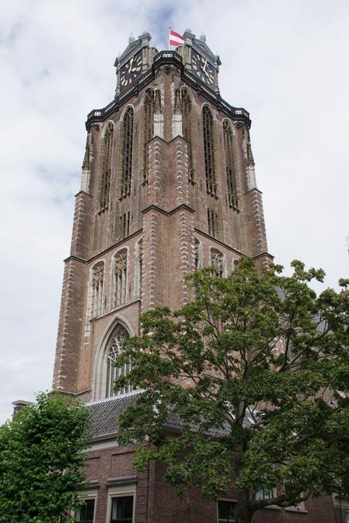 Clocher de l'église Grote Kerk à Dordrecht