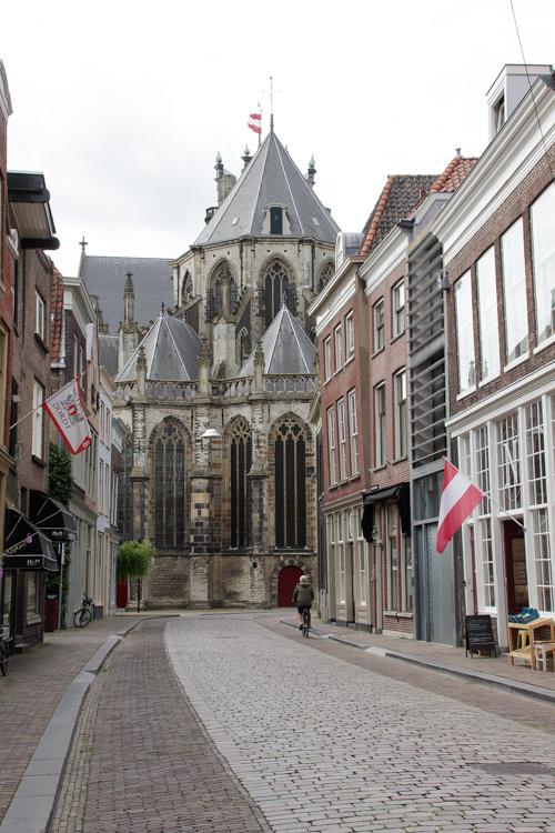 l'église Grote Kerk à Dordrecht