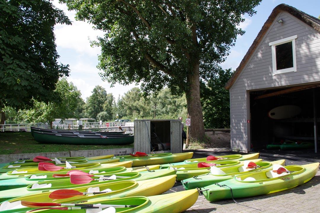 location de bateau au Biesbosch Centrum