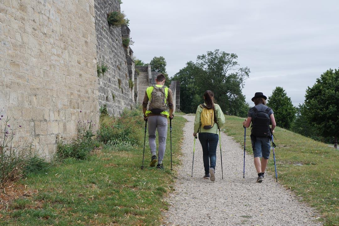 marche nordique à Laon