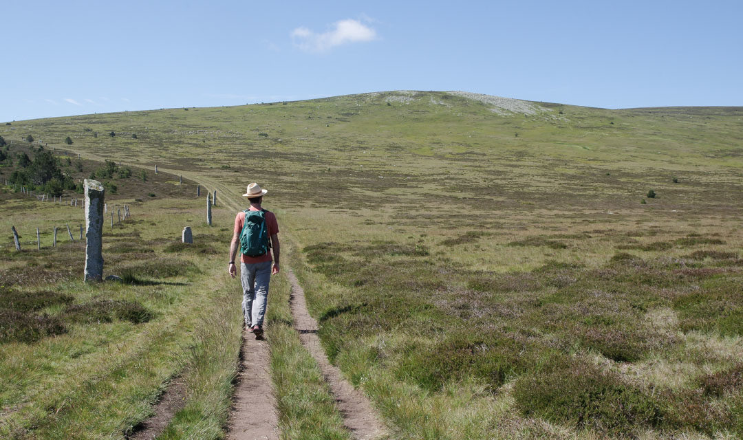 Randonnée au Mont Lozère sur le Chemin de Stevenson