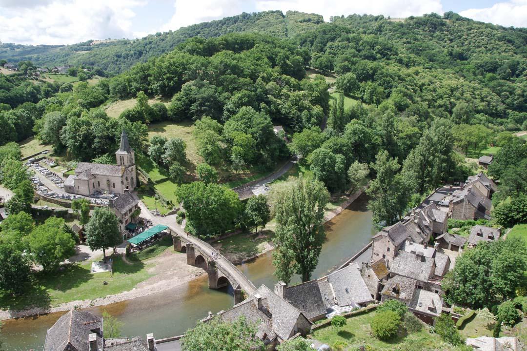 Village de Belcastel en Aveyron