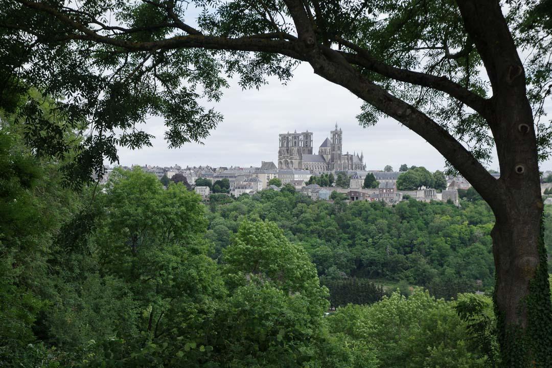 Vue sur la Cathédrale de Laon