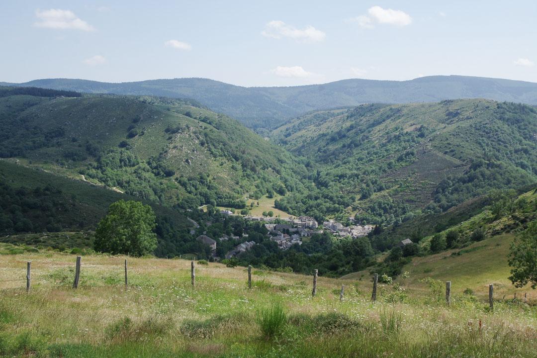 Panorama sur le village de Pont de Montvert