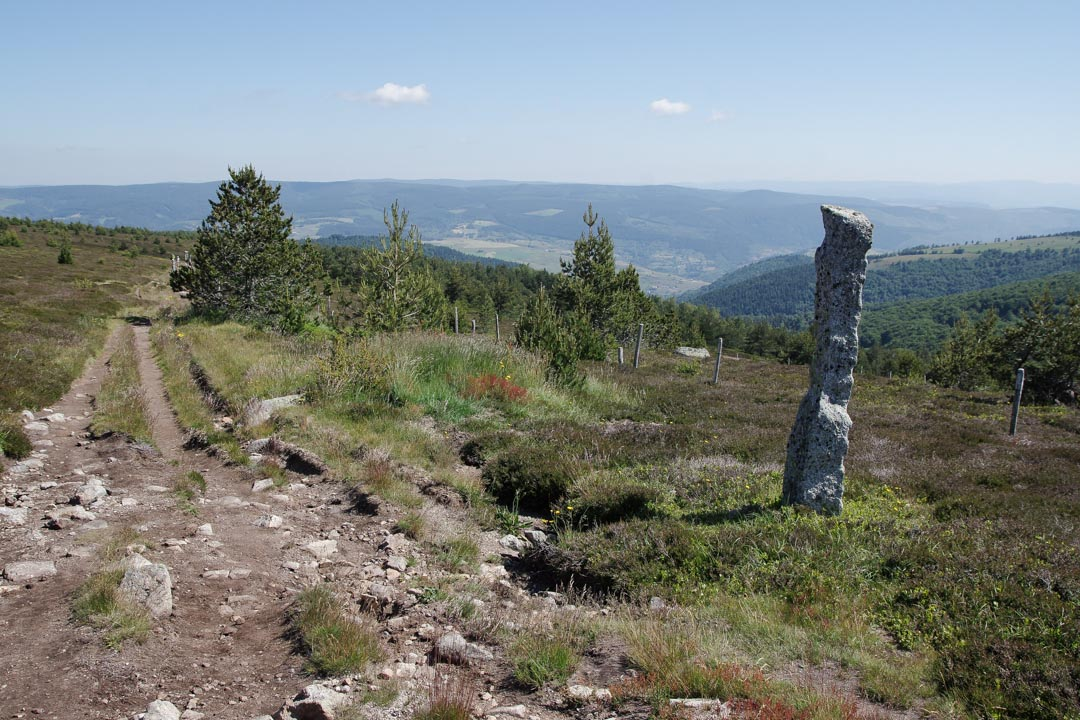 Randonnée de Stevenson - l'étape du Mont Lozère