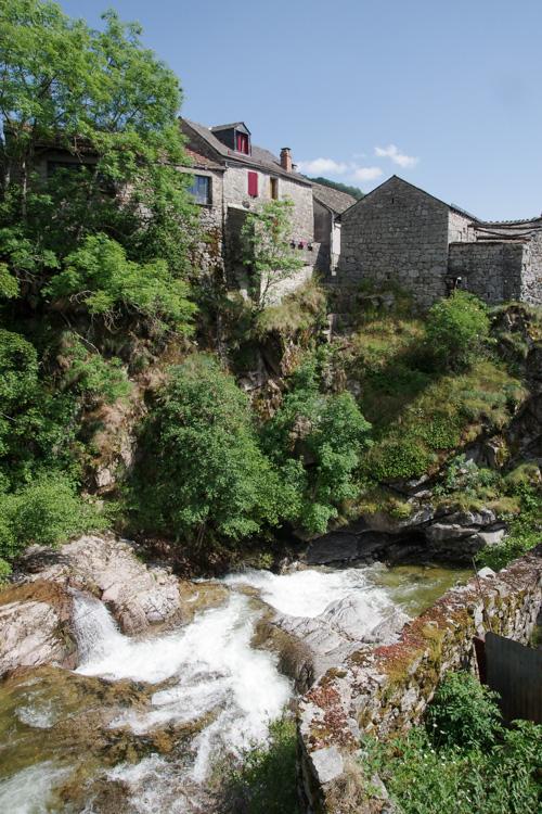 Village du Pont de Montvert dans les Cévennes