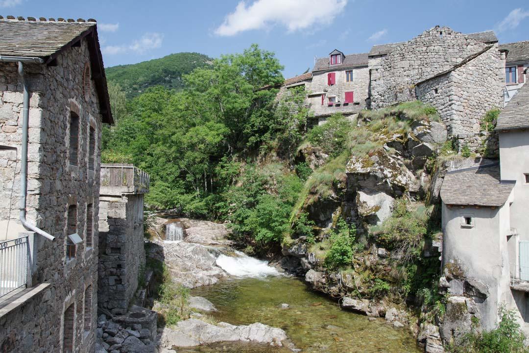 Village de Pont de Montvert dans les Cévennes