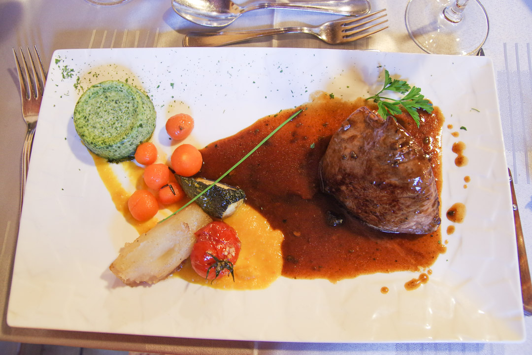 veau - restaurant Le Bleymard