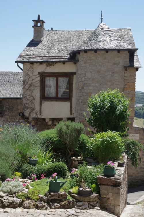 Severac le Château en Aveyron