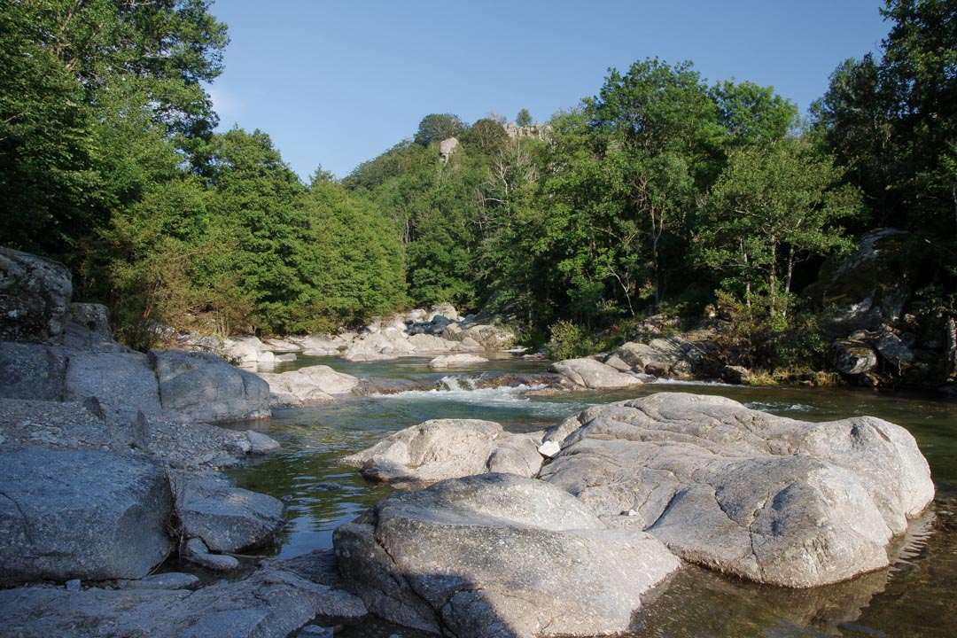 Baignade dans le Tarn au Pont de Montvert