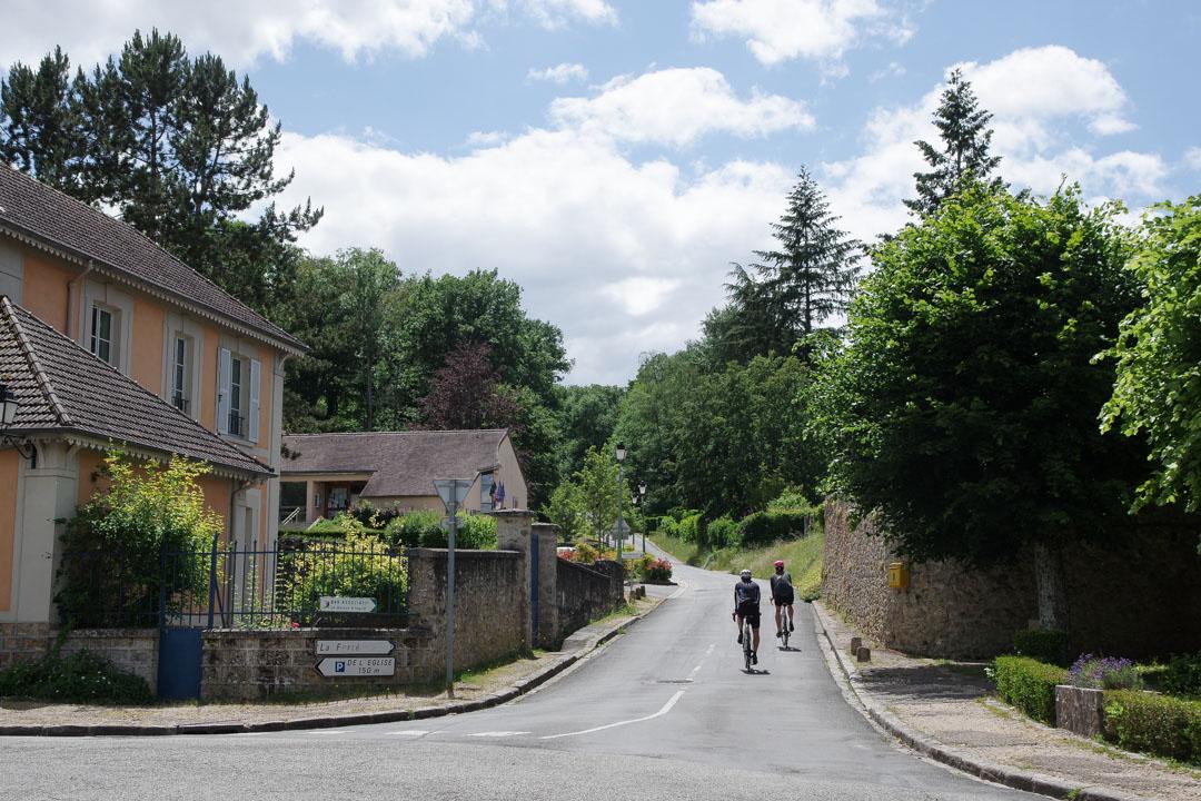 Véloscenie : la montée de Choisel en vallée de Chevreuse