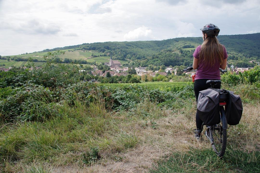 Veloroute du vignoble d'Alsace