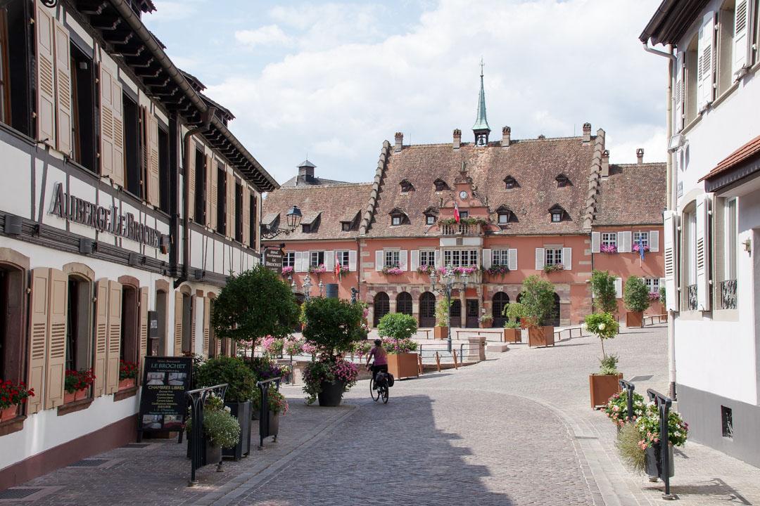 le village de Barr en Alsace