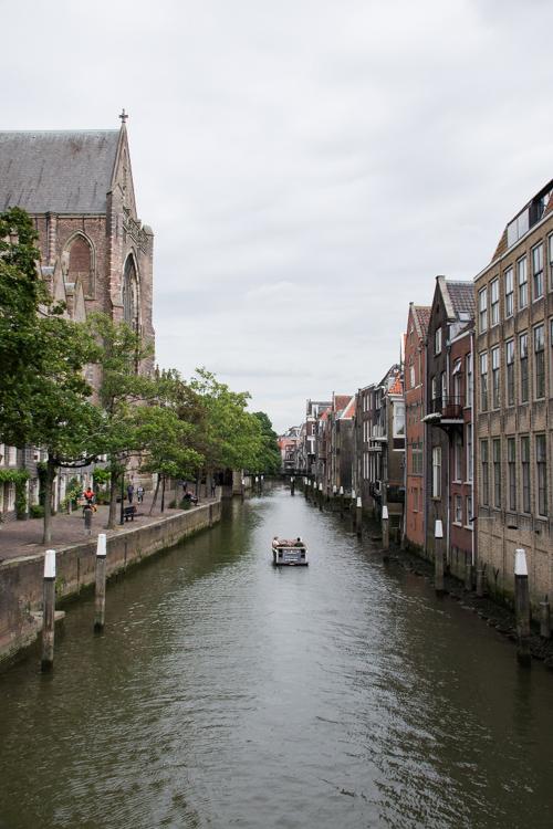 les canaux de Dordrecht