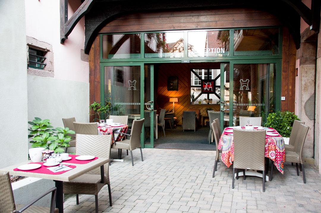 petit déjeuner - hotel de la tour à Ribeauvillé