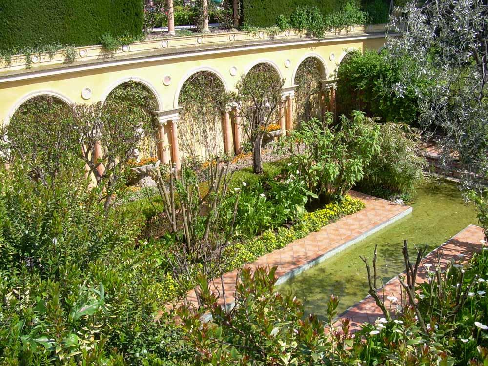 Les jardins de la villa Ephrussi de Rotschild