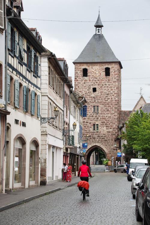 A vélo dans Molsheim