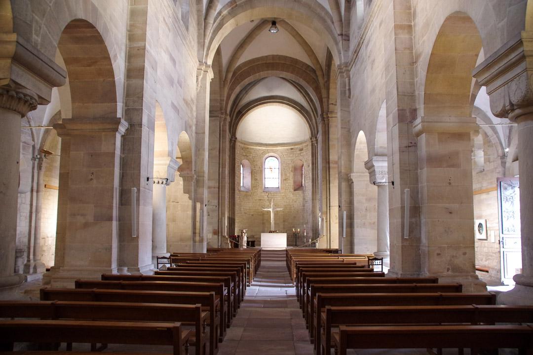Nef de l'Eglise romane de Rosheim