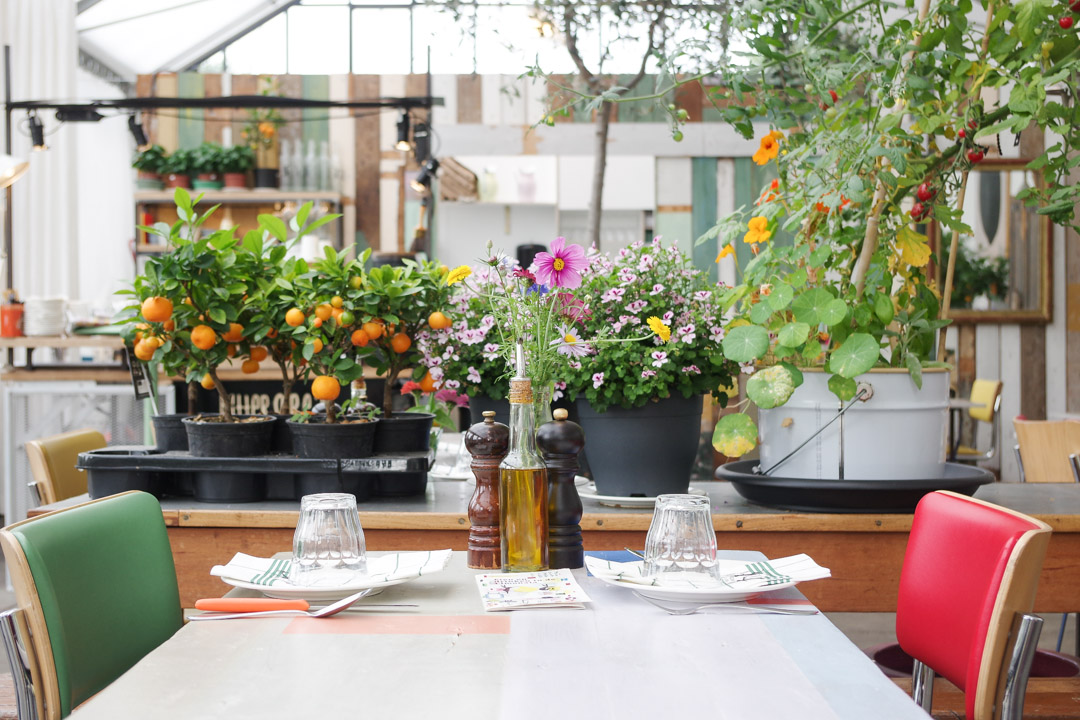 Salle du petit déjeuner - Villa Augustus à Dordrecht