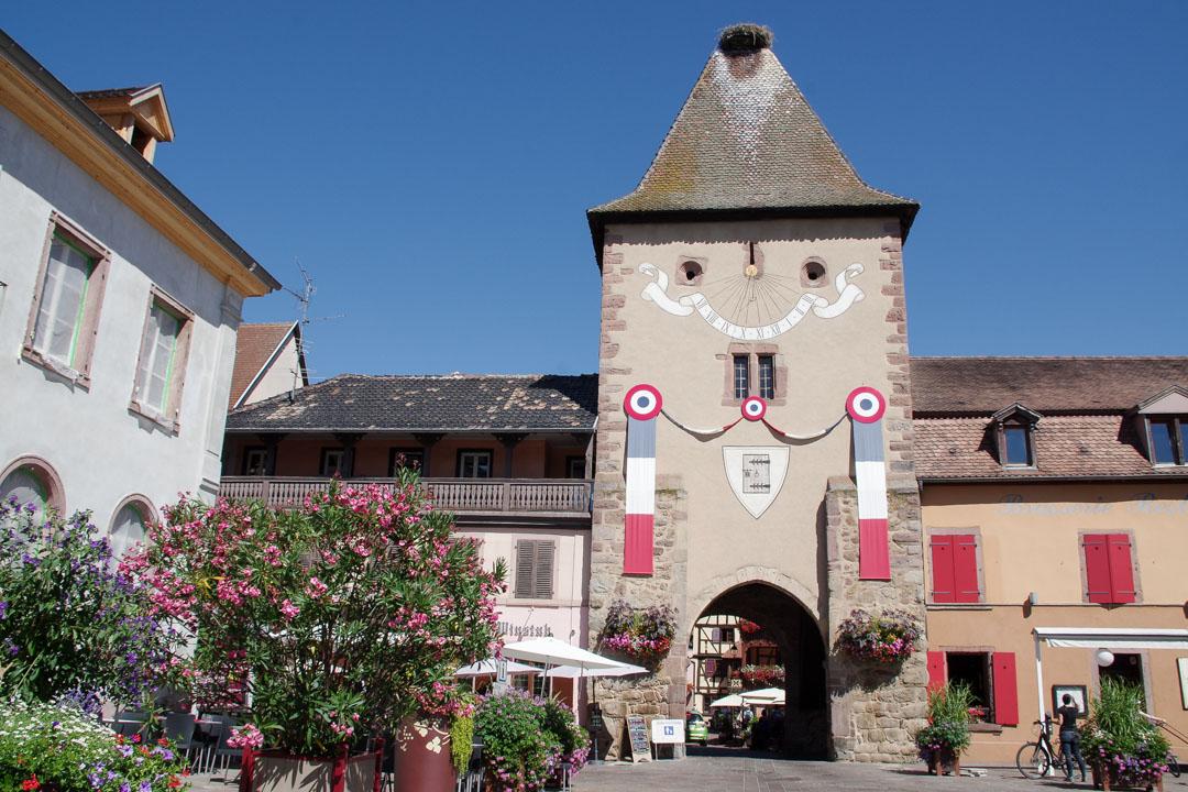 porte de la vieille ville de Turkheim