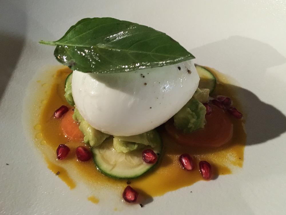 Entrée - Mozzarella - Restaurant l'Inattendu à Marseille