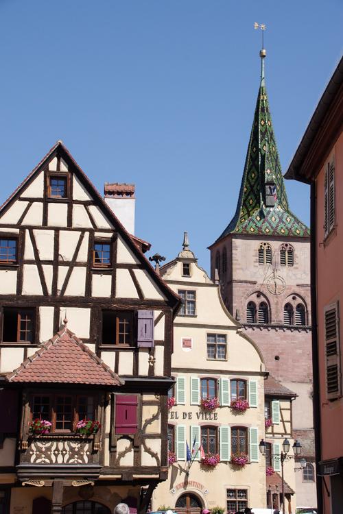 le village alsacien de Turkheim