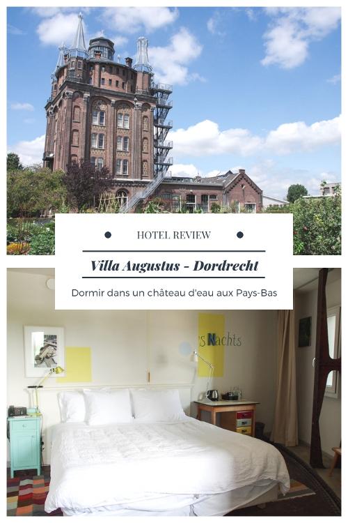 Villa Augtus : Dormir dans un château d'eau à Dordrecht - Pays-Bas