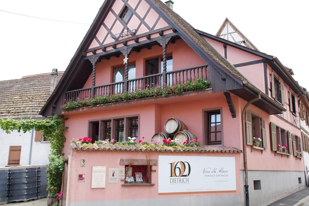 Vin Dietrich à Dambach-la-Ville en Alsace