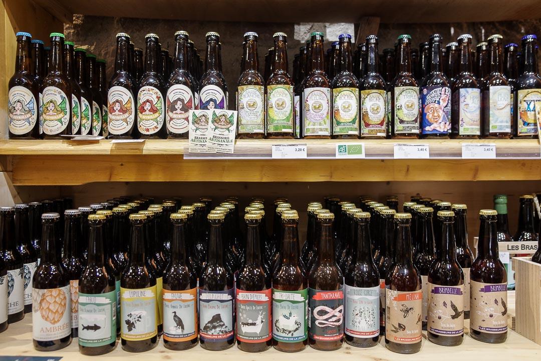 Bieres artisanales de Lozère - La Regordane à la Garde Guérin