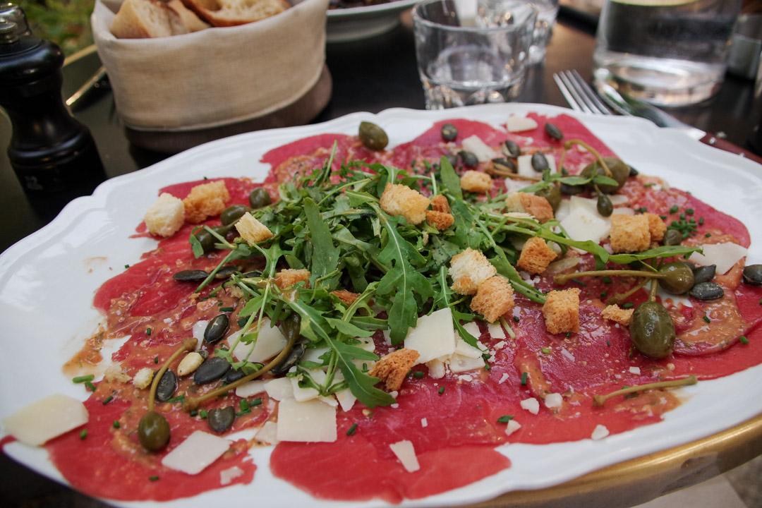 carpaccio - Café Bleu - Chartres