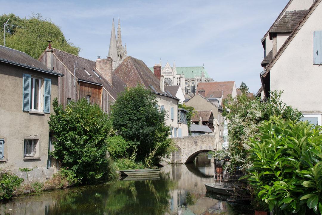 Les bords de l'Eure à Chartres