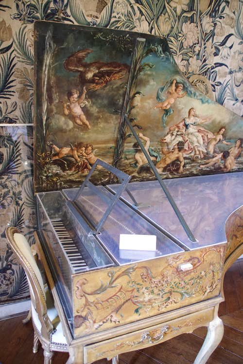 clavecin - château de Maintenon