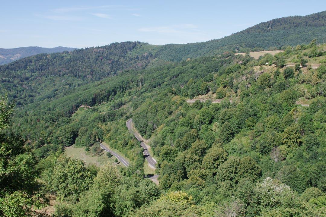route du col de Hundstruck