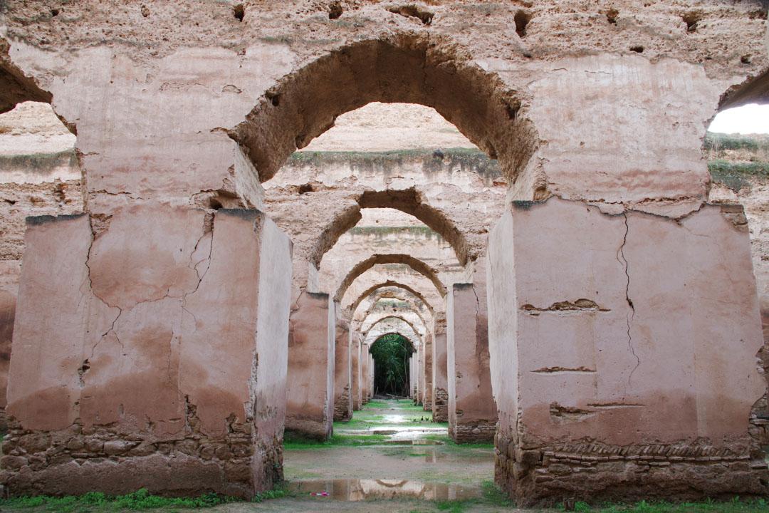 Hri Souani : ancien grenier royal de Meknes
