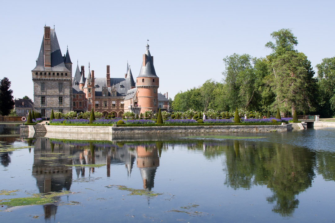 jardin fu château de Maintenon