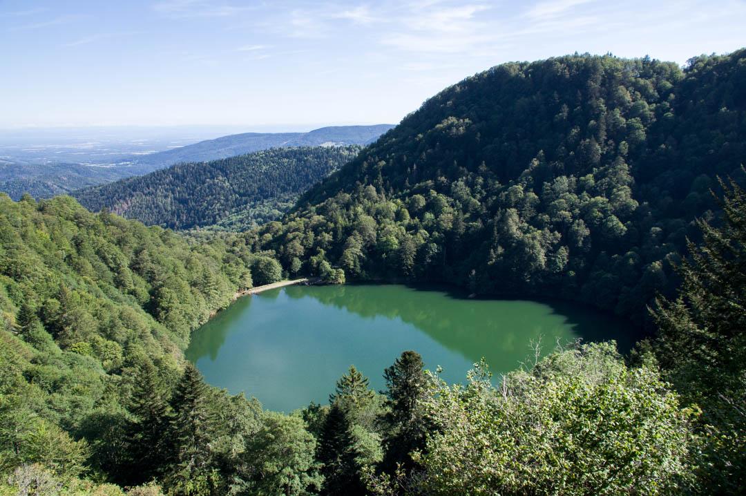 le lac des perches - massif des vosges