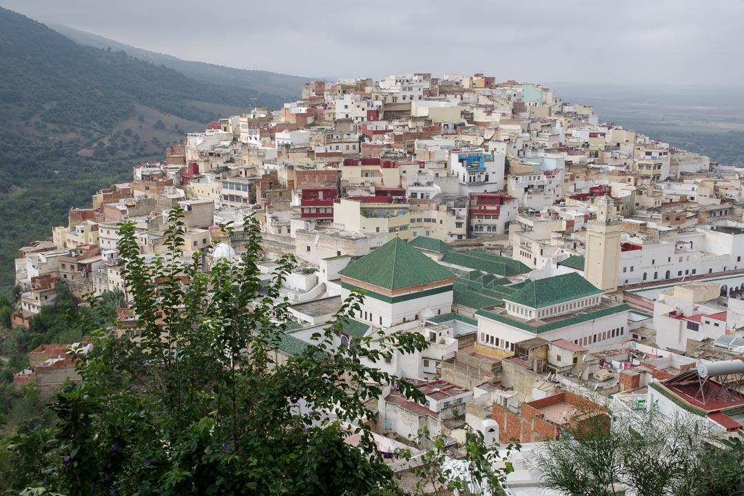 panorama sur Moulay Idriss