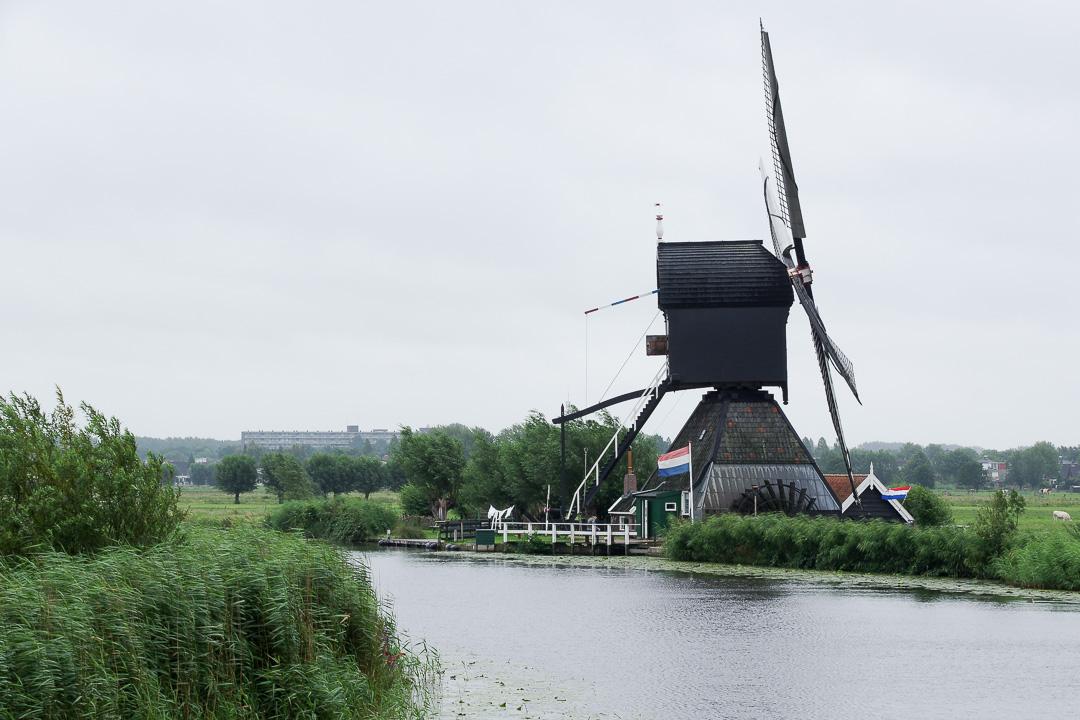 le moulin de Blokker à Kinderdijk