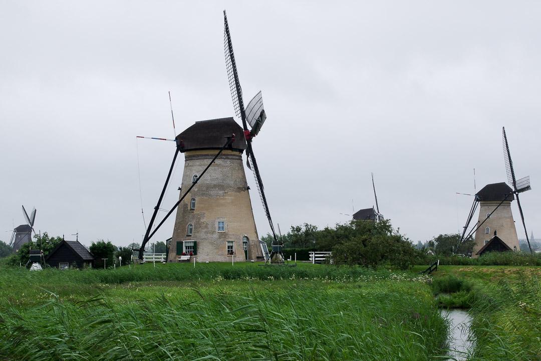 moulin Nederwaard à Kinderdijk