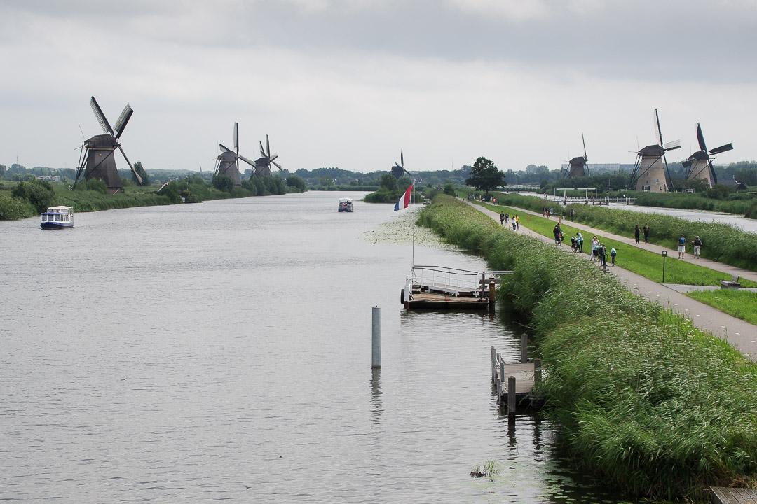 Panorama sur Kinderdijk
