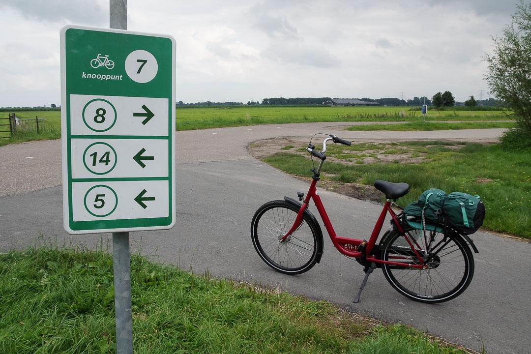 le réseau des points noeuds aux Pays-Bas