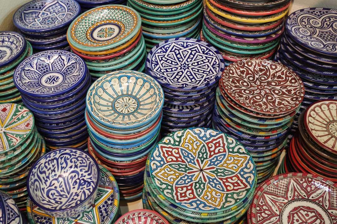 les poteries traditionnelles de Fes