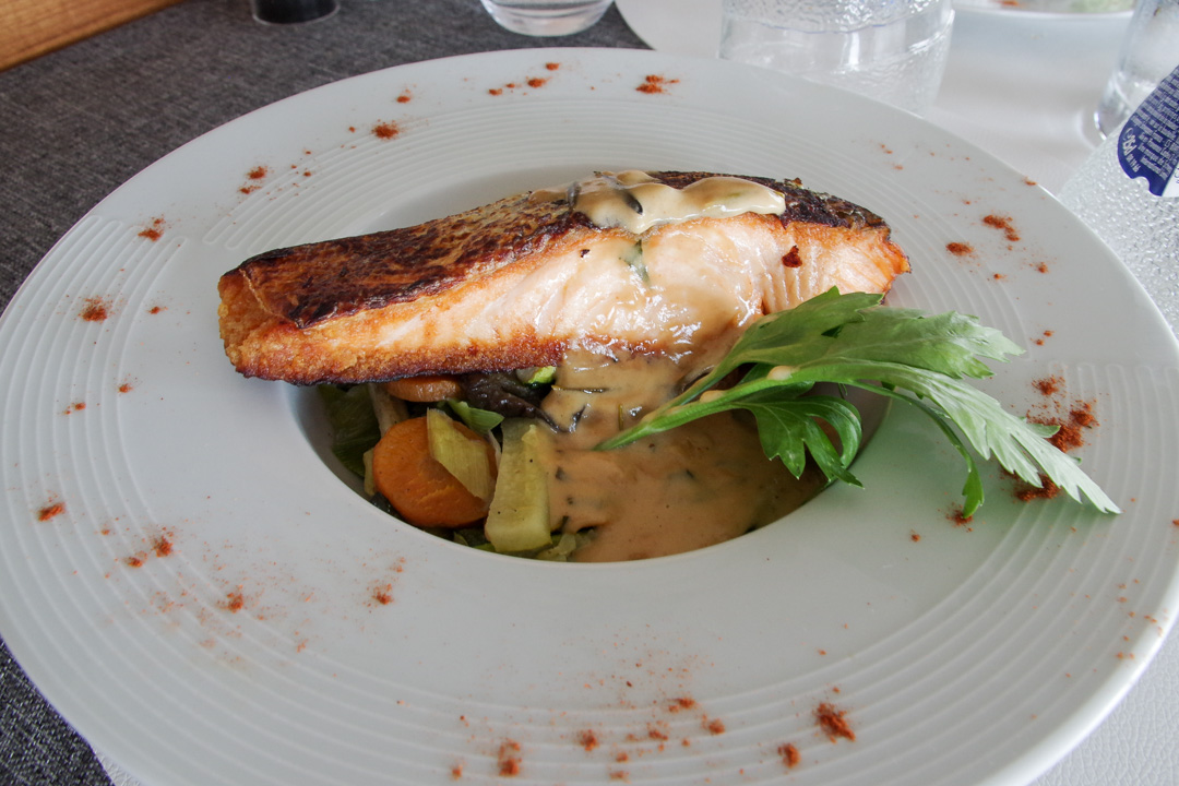 Plat restaurant Epernon