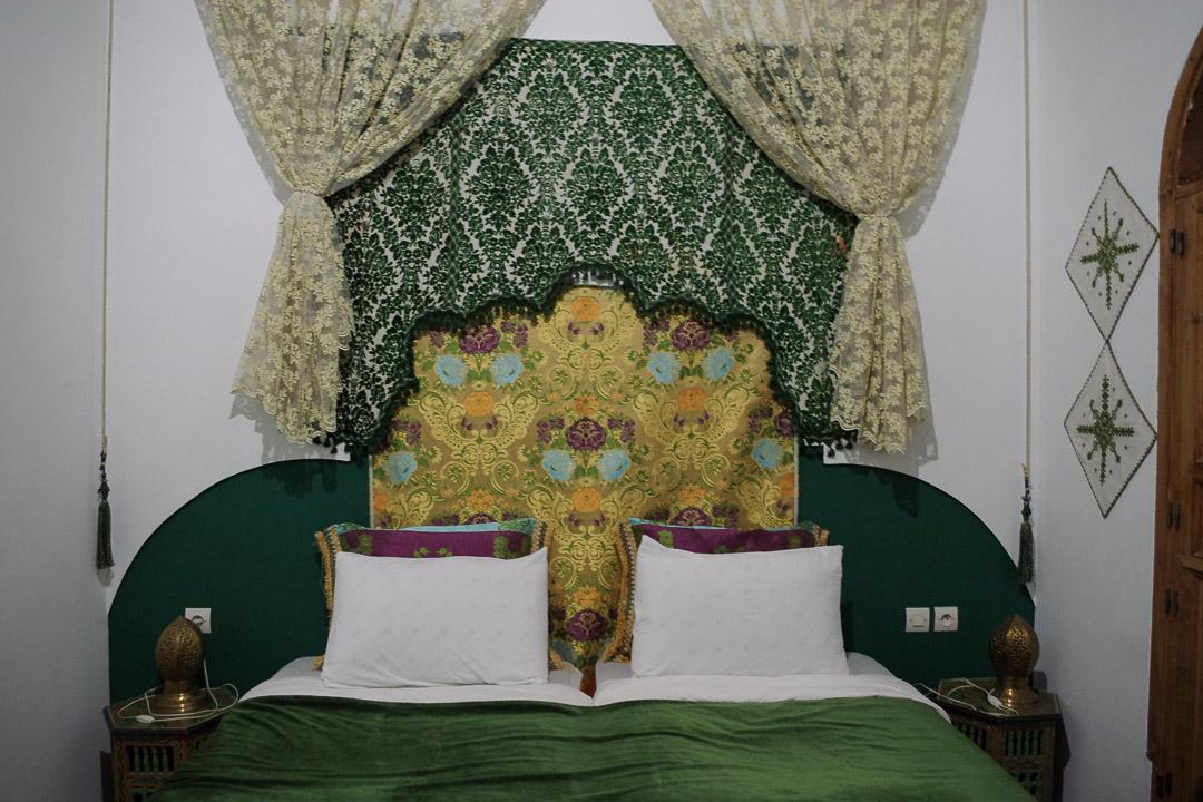 dormir dans un riad à fes - maroc