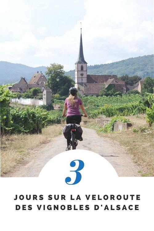 3 jours sur la véloroute du vignoble d'Alsace