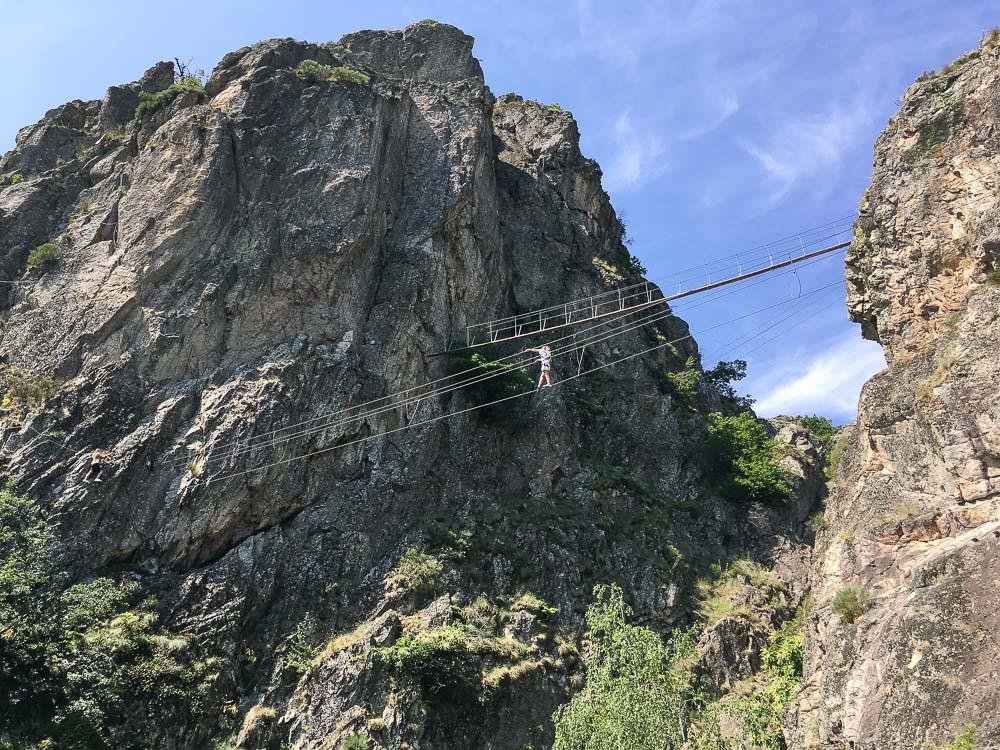 Via Ferrata de Villefort