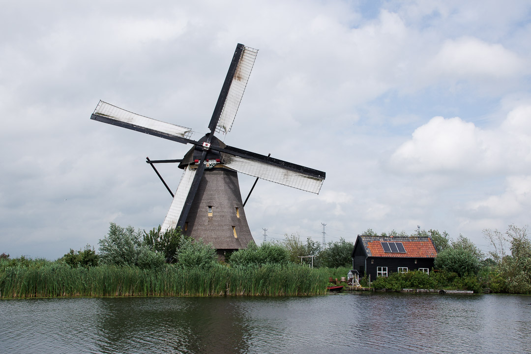 visiter les moulins de Kinderdijk