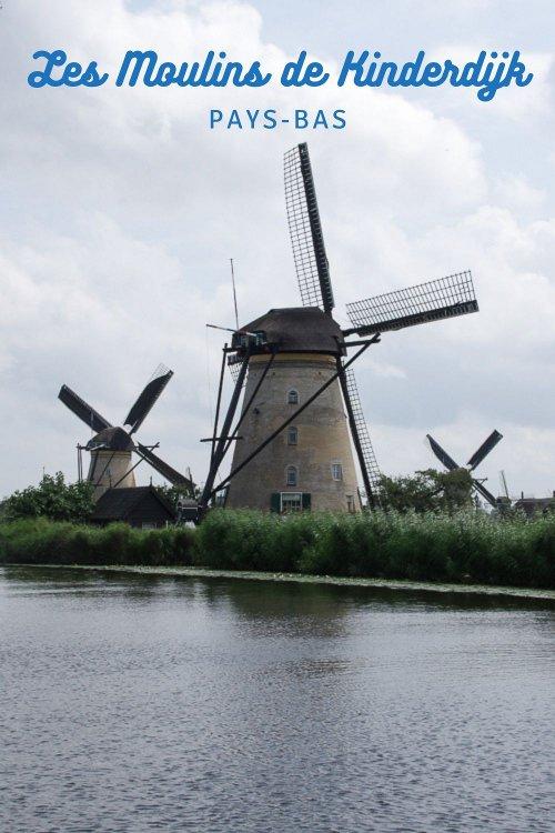 Visiter les Moulins de Kinderdijk aux Pays-Bas